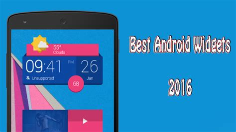 best android widgets best android widgets 2016 give charm to your home screen