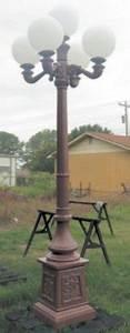 Birchwood Lighting Decorative Historical Lamp Posts