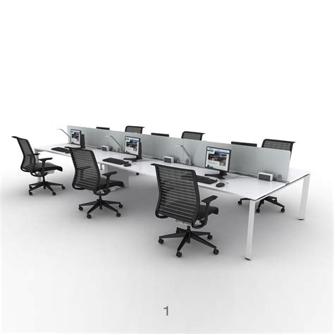 bureau steelcase steelcase frameone bench desks workstations office desks