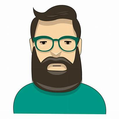 Barba Hipster Verde Caminante Transparent Bart Inconformista