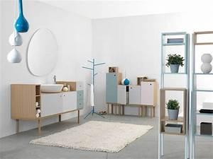 Meuble Salle De Bain Vintage : mobilier au design vintage scandinave relooker un meuble ~ Teatrodelosmanantiales.com Idées de Décoration