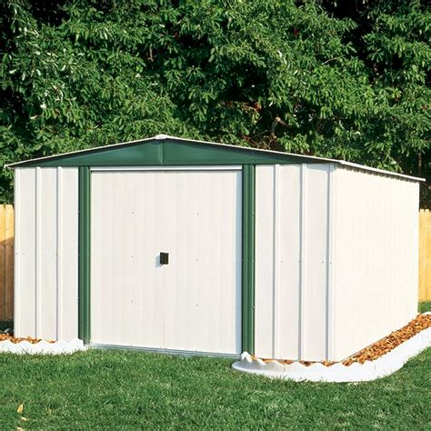 arrow storage sheds sears arrow sr68206 10 x 6 gable steel lawn building