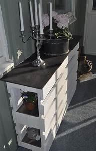 Paletten Möbel Bauen : moebel aus paletten bauen diy sideboard weiss freshouse ~ Sanjose-hotels-ca.com Haus und Dekorationen