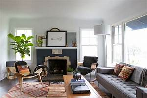 Silverlake Vintage Modern Midcentury Living Room los