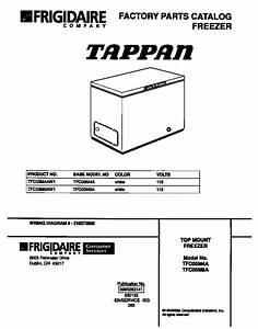 Tappan Freezer