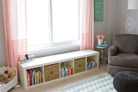 window storage bench nursery ideas pinterest