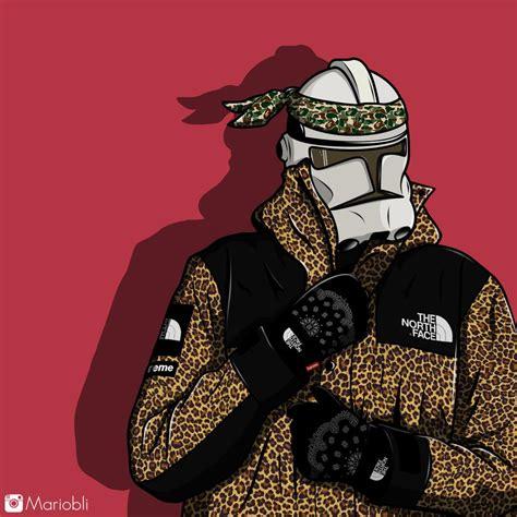 Supreme X Thenorthface X Star Wars By Mariobli On Deviantart