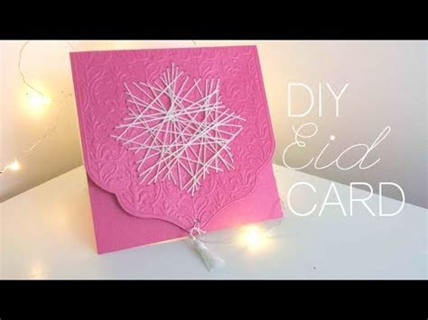 Diy How To Make Eid Cards (tutorial) Youtube