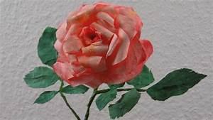 Blumen Bewässern Mit Wollfaden : blumen basteln romantische rosenbl ten aus kaffeefilter ~ Lizthompson.info Haus und Dekorationen