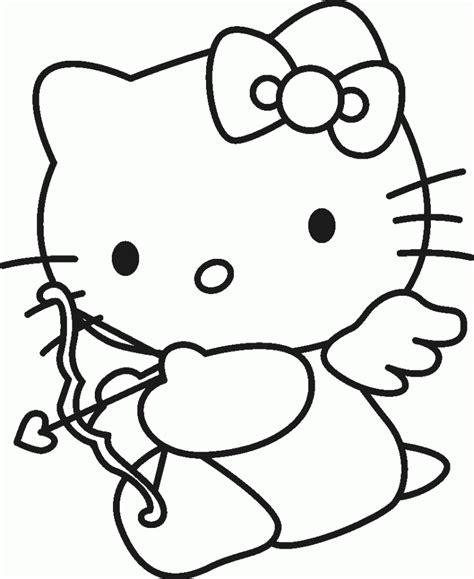 kitty ausmalbilder   malvorlage  kitty