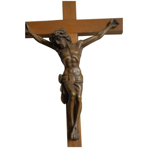 relax wall crucifix jesus wall cross from europeantiqueshop on ruby