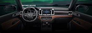 2017 SsangYong Rexton interior - Indian Autos blog