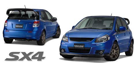 Suzuki Sx4 Performance Parts by Sx4 Suzuki Sport Racing Parts Information