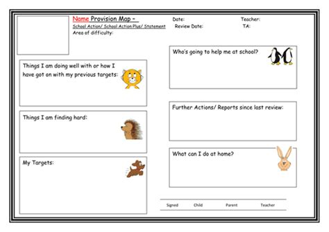 Child Friendly Questionnaire Template - Costumepartyrun