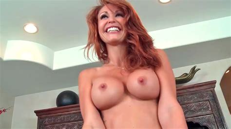Mesmeric Red Haired Milf Gobbles Up A Hard Dick During Sex