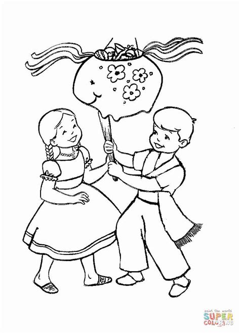 Christmas In Mexico Coloring Page Az Pages