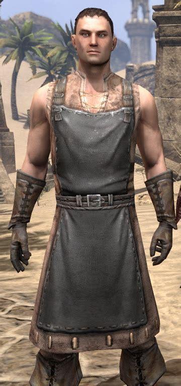 elder scrolls  blacksmith eso fashion