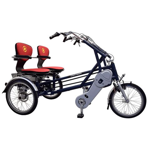 side  side tandem fungo componian cycle double rider