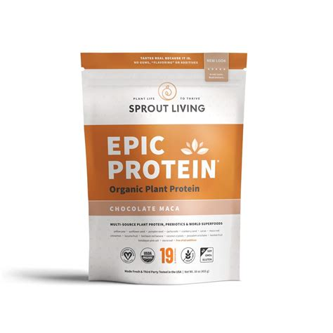 Amazon.com: Sprout Living Epic Protein Powder, Original