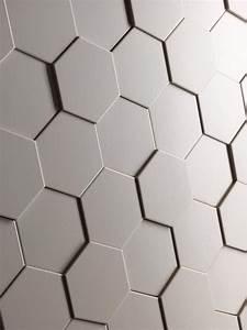 Carrelage Mural Hexagonal : carrelage mural hexagonal blanc carrelage de maison ~ Carolinahurricanesstore.com Idées de Décoration