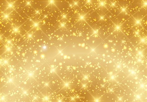 Sparkle Background Beautiful Gold Sparkle Background Vector Free