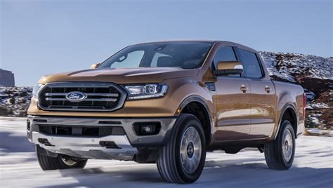 fords  ranger unveiled  automatic emergency brakes