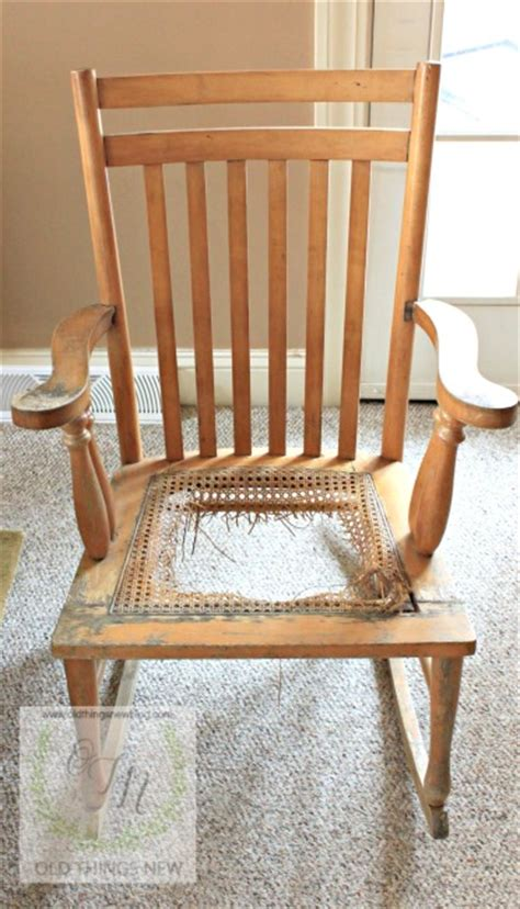 Recane A Chair Seat by Things New Recaning A Vintage Chair