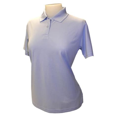 light blue polo shirt womens women 39 s ultimate pique polo shirt from jockey 209641
