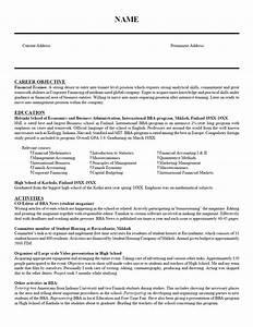 finance trainee resume sample With finance resume writers