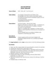 Resume Helper Template Paralegal Description For Resume Sles Of Resumes