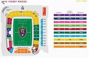 Rsl Stadium Seating Chart Real Salt Lake Announces 2013 Season Ticket Prices Rsl