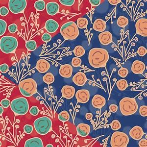 Clipart - Floral Pattern Background Design