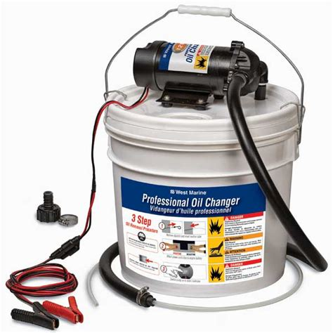 Boat Engine Oil Change Pump by West Marine Professional Oil Changer 12v Bucket West Marine