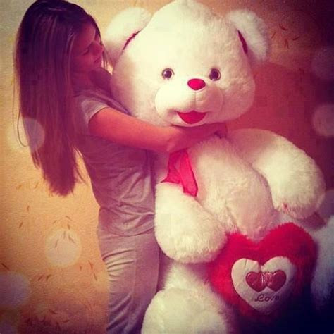 Sweet Cute Teddy Bear Girls Profile Pictures Dps