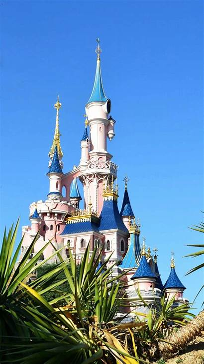Disneyland Paris Castles Parks Mobile Wallpapers