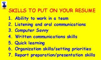 What Are Some Skills To Put On A Resume by How To Write A Resume Archives The New Canadians
