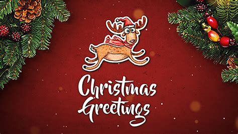 after effects template christmas greetings 2017 christmas new year greetings special events after