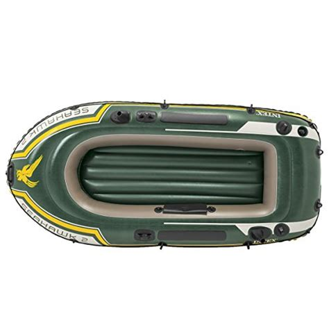 Seahawk 6 Person Inflatable Boat by Intex Seahawk 4 4 Person Inflatable Boat Set With