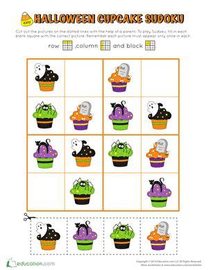 st grade halloween worksheets  printables page
