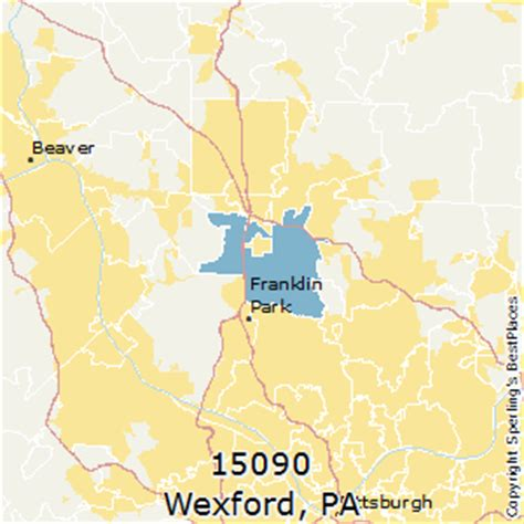 places    wexford zip  pennsylvania
