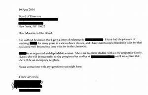 recommendation letter for co op board ace your co op board application 14 successful real life