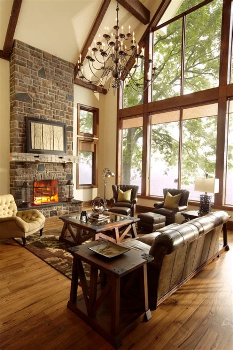cozy rustic living room designs  ensure  comfort