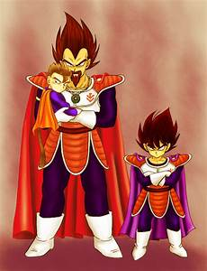 aww la familia de vegeta by GianeSSJ on DeviantArt