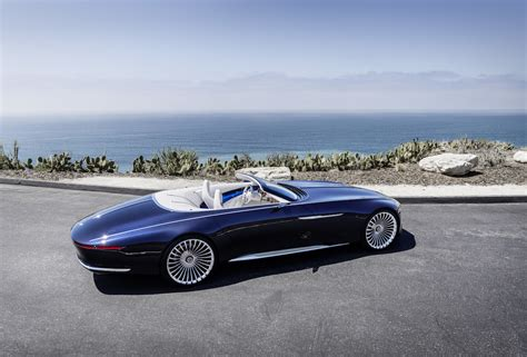 De Vision Mercedes-maybach 6 Cabriolet Is Officieel