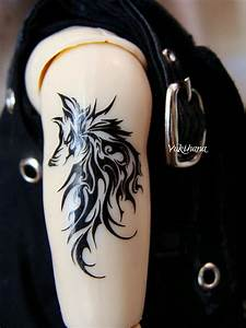 Tribal Wolf Tattoo : 17 cool wolf tribal tattoos for women sheideas ~ Frokenaadalensverden.com Haus und Dekorationen