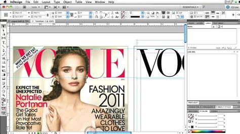 indesign magazine gen109 indesign magazine cover part 1 of 2