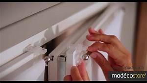 Rideaux à Poser Sur Fenêtres : pose rideau sans percer comment poser une tringle ~ Premium-room.com Idées de Décoration