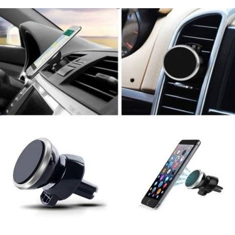 support aimant telephone voiture support voiture magn 233 tique pour iphone 7 aimant noir