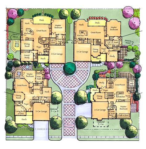 Courtyard Cluster Homes  David A Clinger & Associates