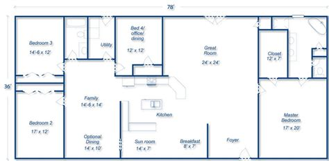 Comments Metal Building Home Floor Plans House Designs